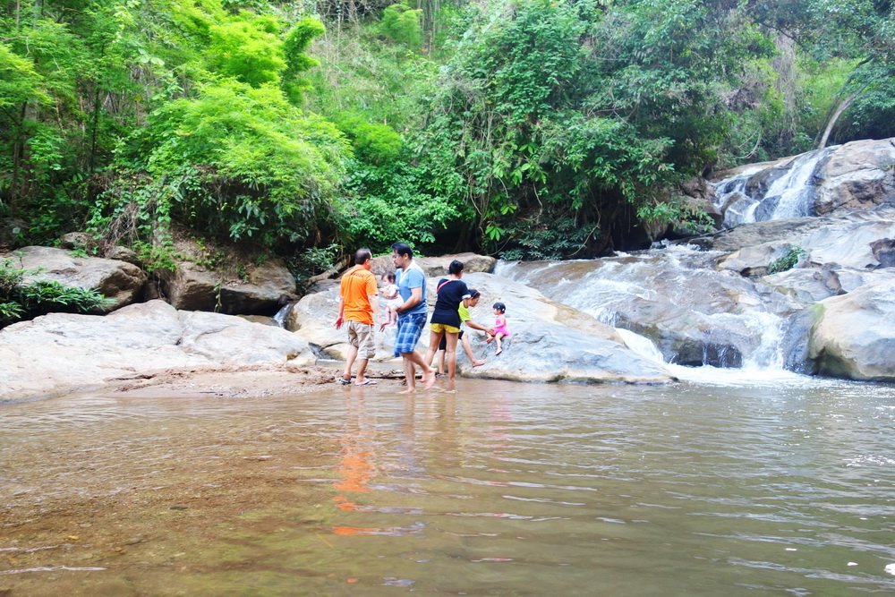 maesa waterfall, mae sa waterfall