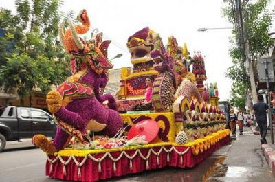 chiang mai flower festival, chiang mai festival