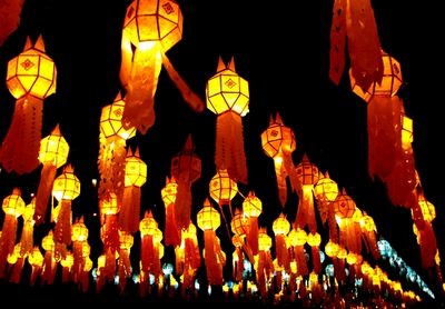 yeepeng festival, loy krathong festival