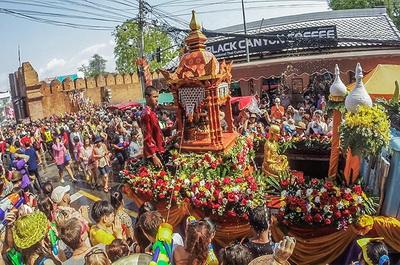 songkran festival, chiang mai festival