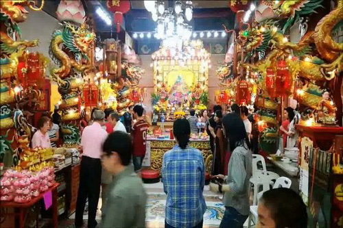 chinese new year, chinese new year in chiang mai, chiang mai festival