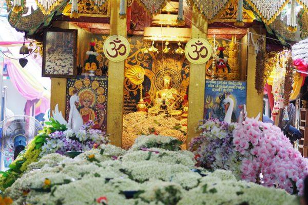 wat phrathat doi kham, phrathat doi kham temple, doi kham temple, pharthat doi kham