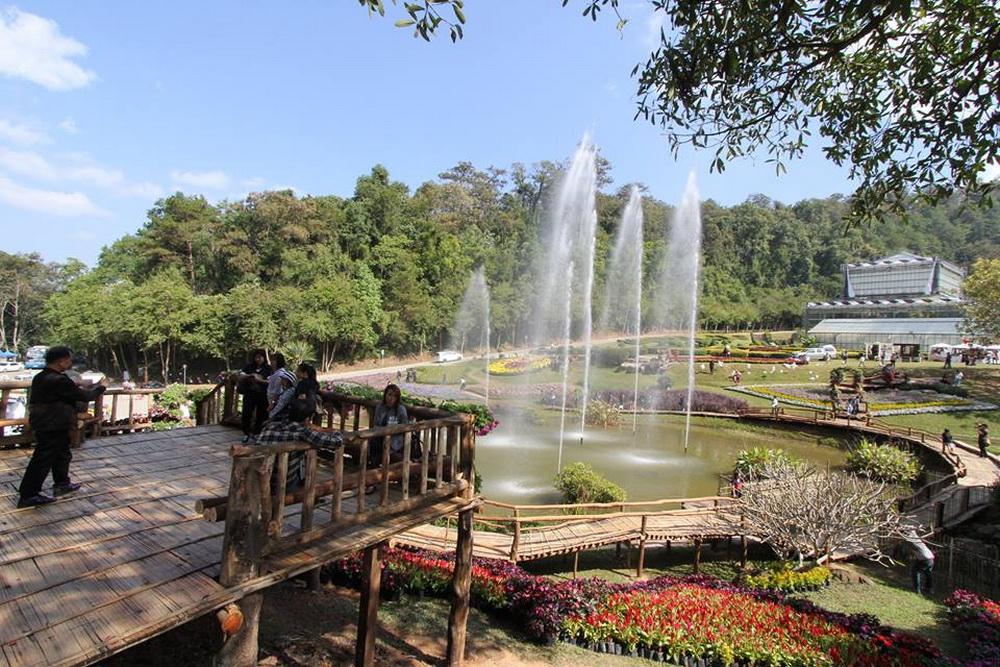 queen sirikit botanic garden, queen sirikit garden, sirikit botanic garden, botanic garden chiang mai
