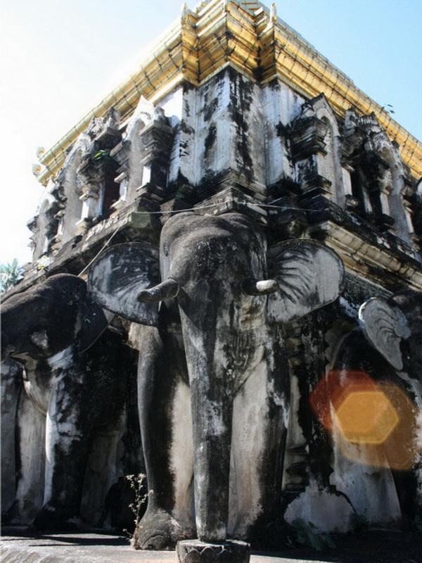 wat chiang man, chiang man temple