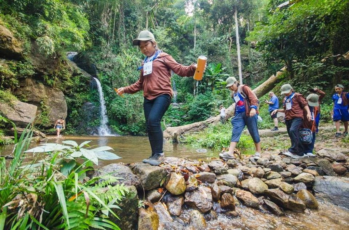 huay kaew waterfall, namtok huay kaew, huay kaew waterfall chiang mai