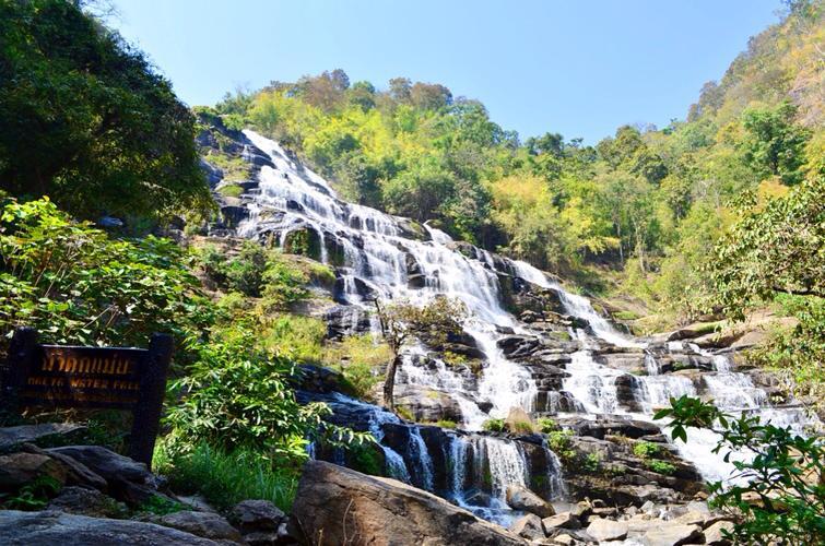 mae-ya waterfall, mae ya waterfall