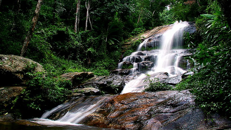 Montha Than Waterfall, doi suthep-pui national park, doi suthep - pui national park